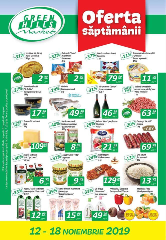 Oferta săptămânii de la Green Hills Market (Nr. 46)