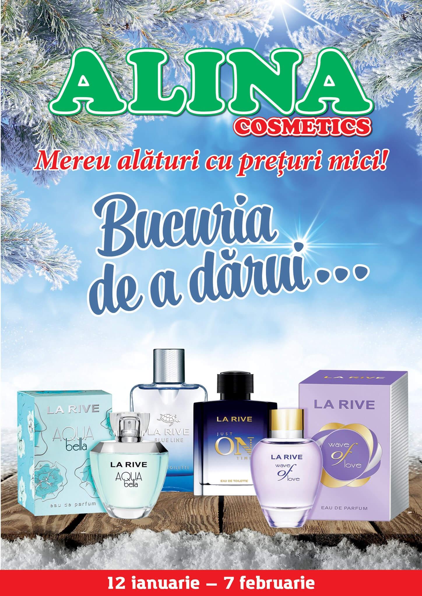 Alina Cosmetics - Буклет января