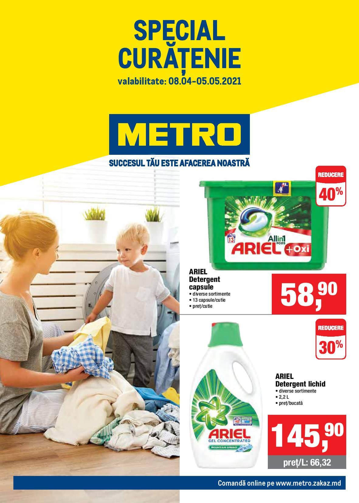 METRO: Catalog Special Curățenie (NR. 8)