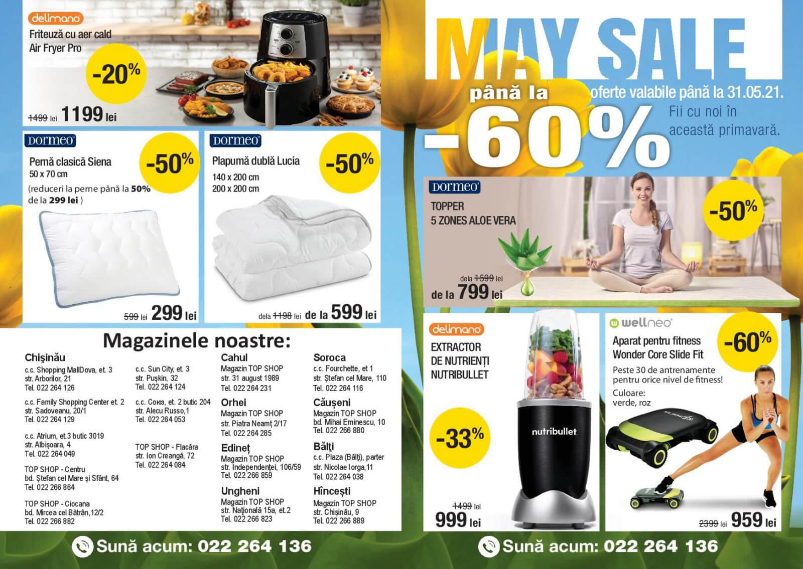 Top Shop: Reduceri pana la -60%