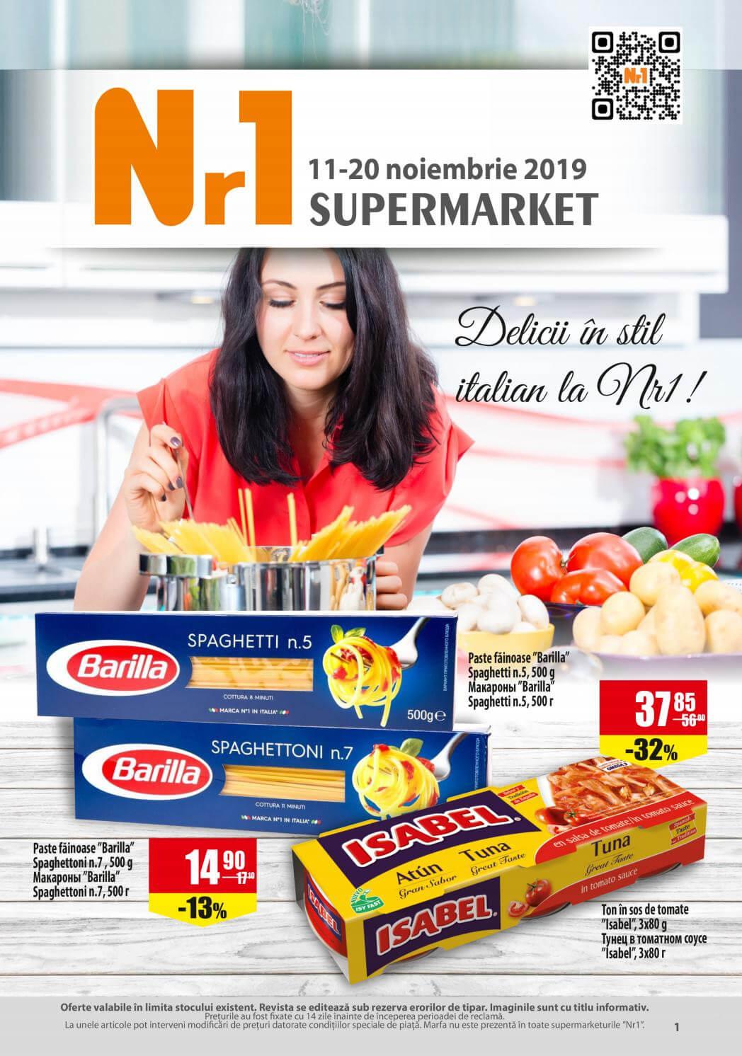NR1 - Delicii în stil italian