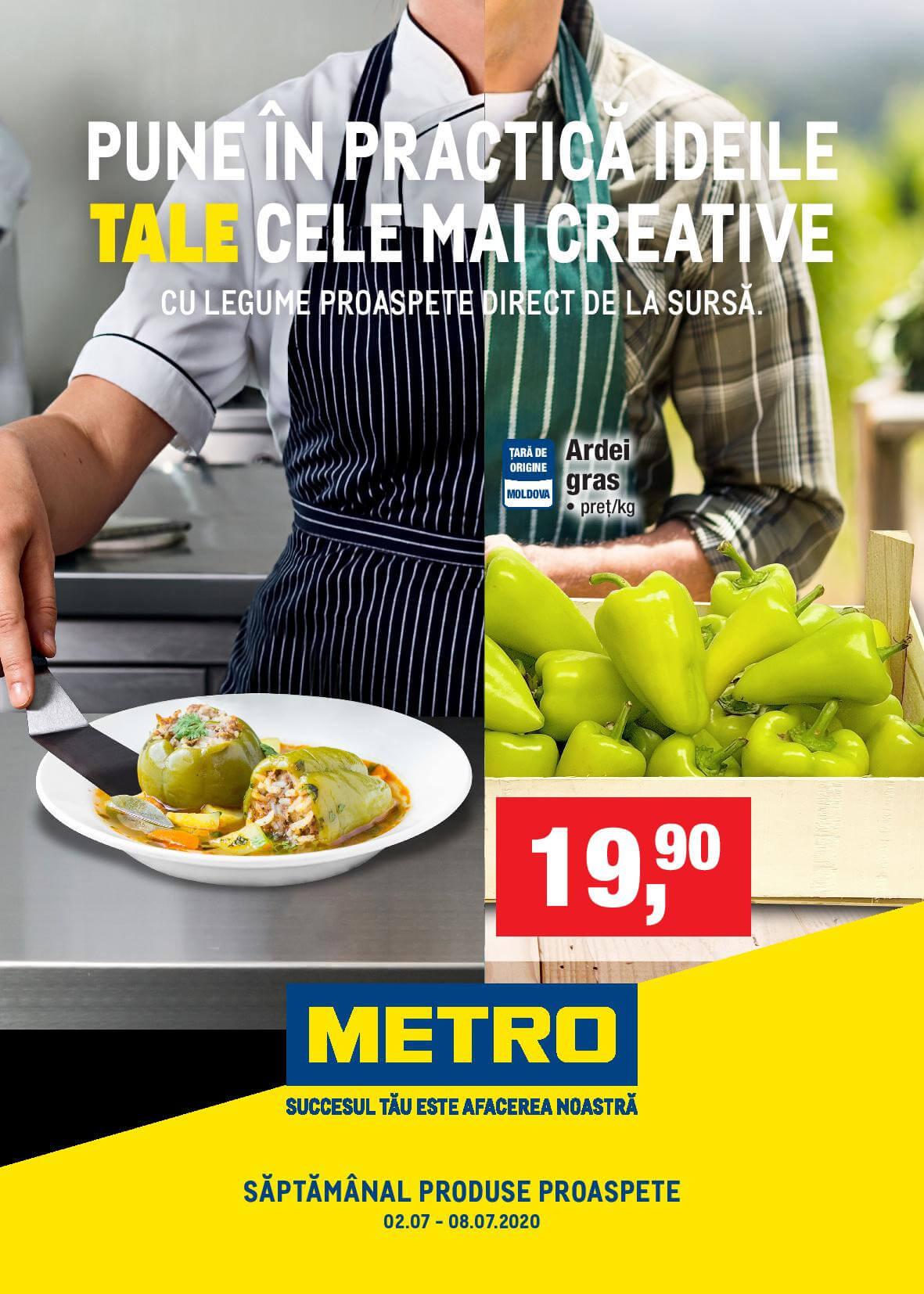 Produse proaspete de la METRO (Nr. 23a)