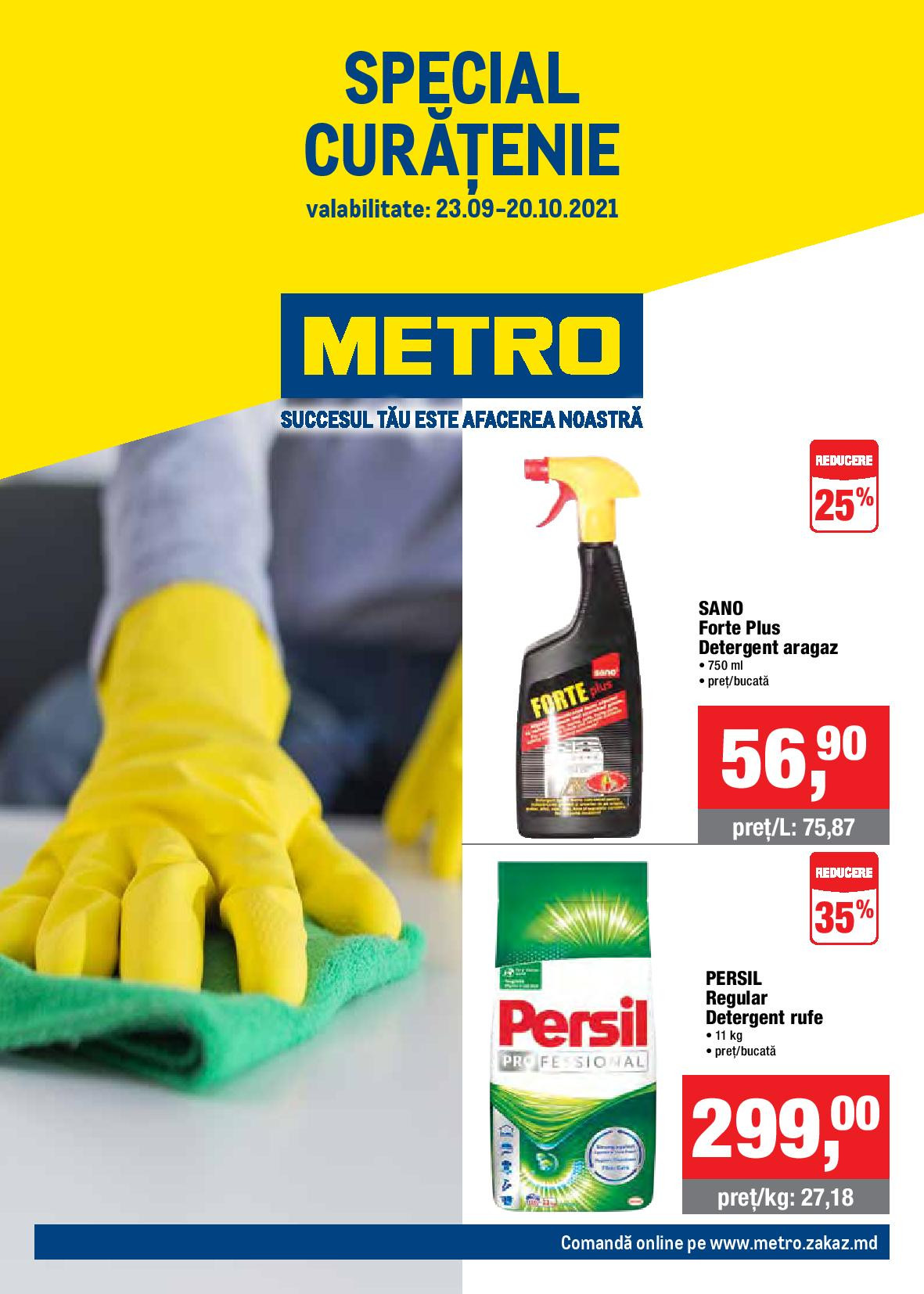METRO: Catalog Special Curățenie (NR. 20)