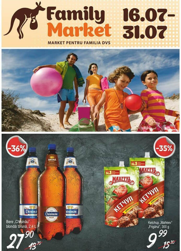 Family Market - oferta lunii iulie 2