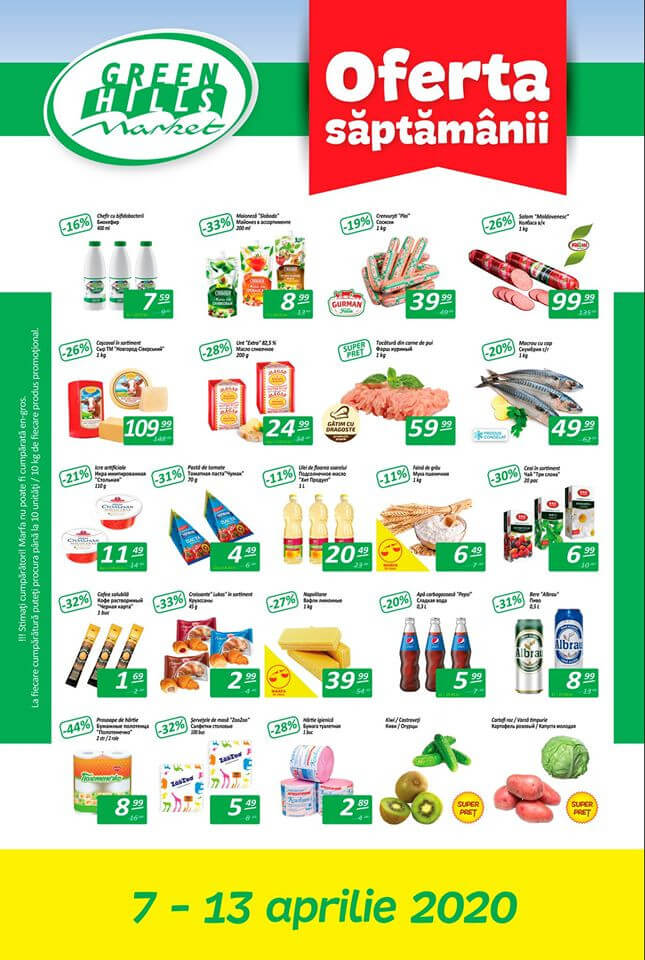 Oferta săptămânii de la Green Hills Market (Nr. 15)