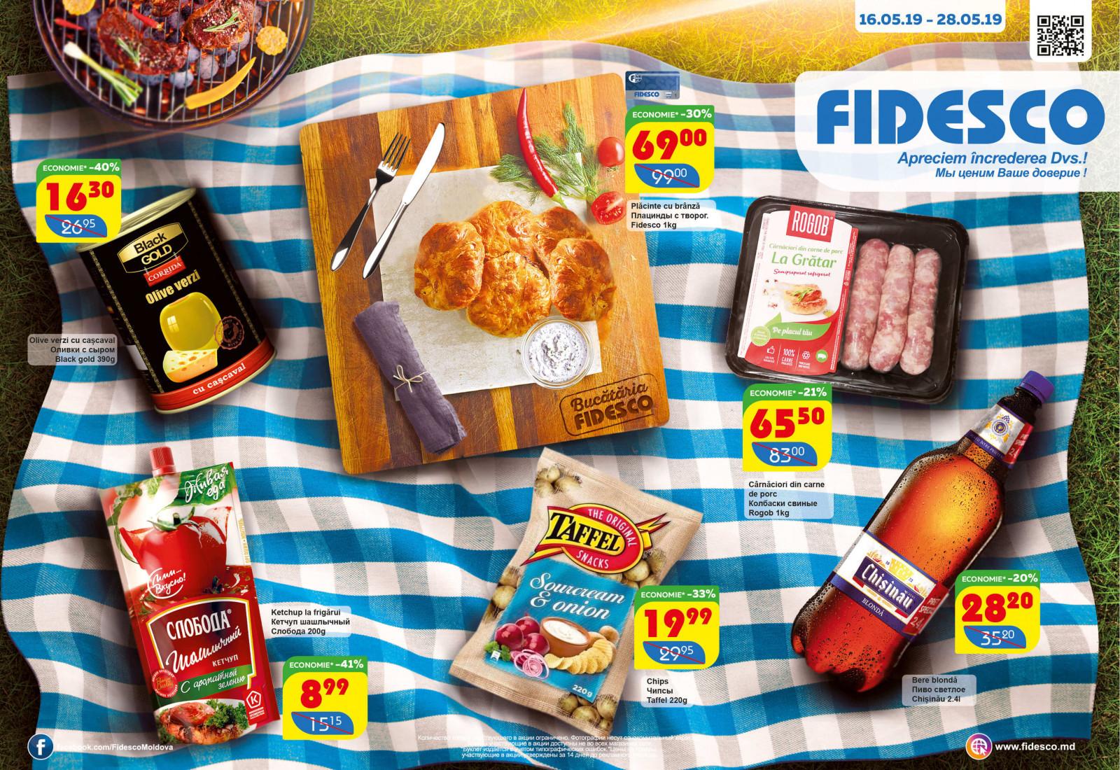 Fidesco pliant promoțional luna Mai