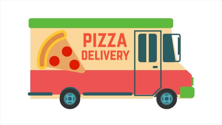 Pizzeria pe vatră livrează!