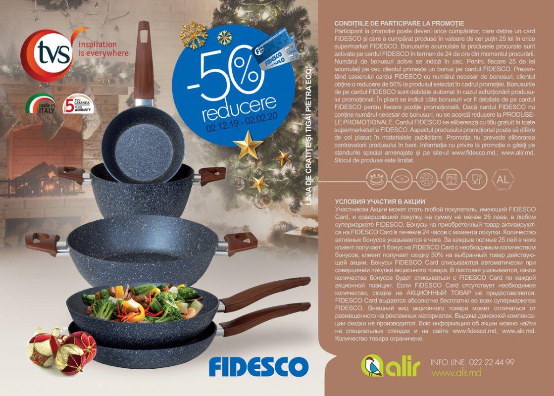 Fidesco - Reducere -50% la produsele PIETRA ECO