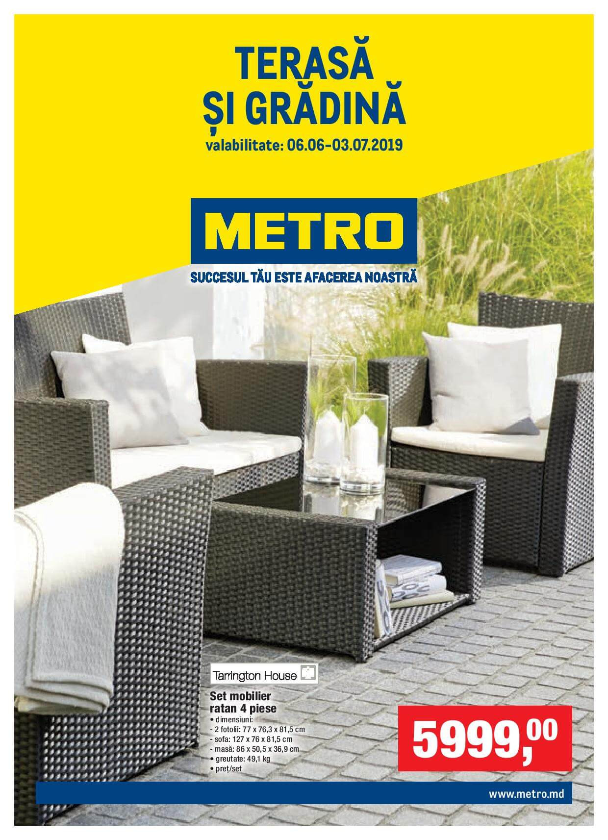Metro Catalog Special Terasă și Grădină Nr 12