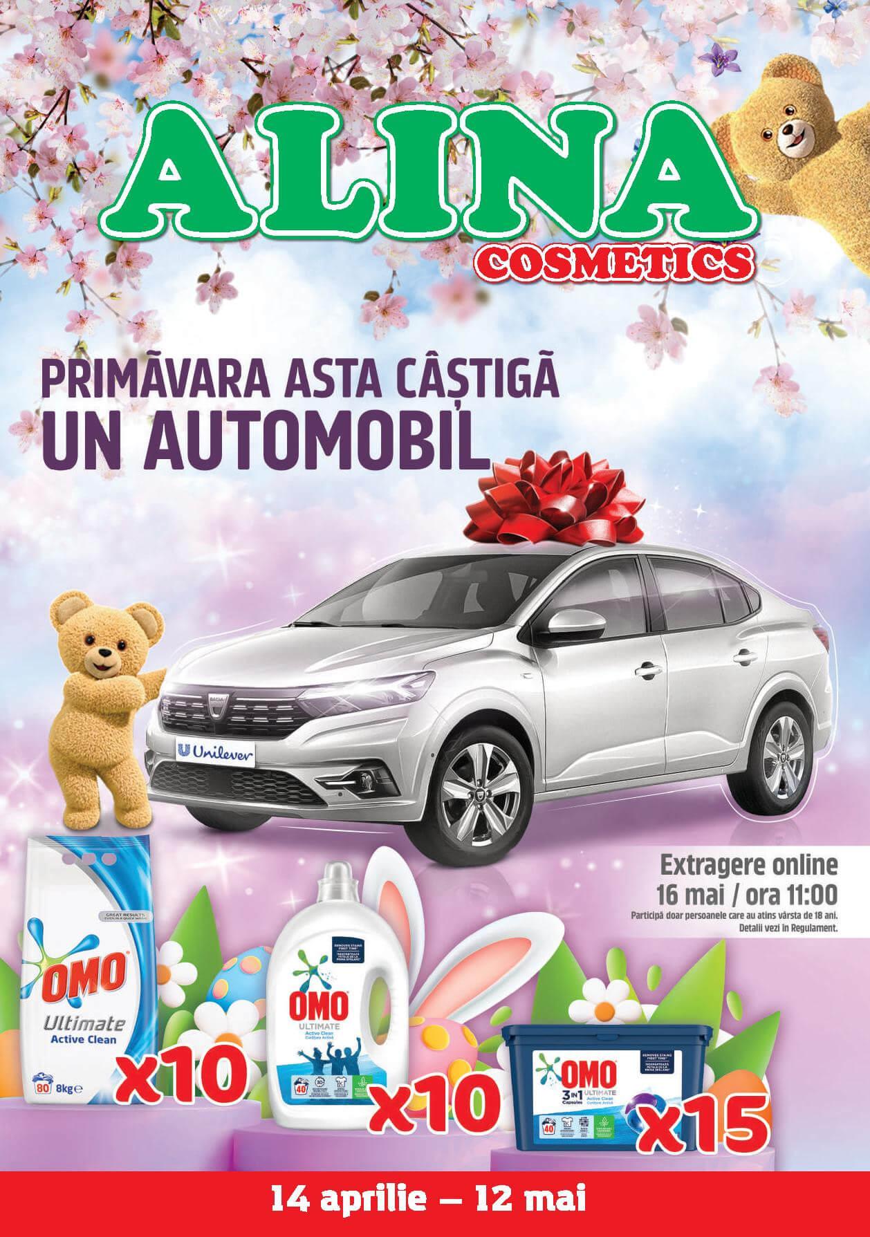 Alina Cosmetics - Oferta lunii aprilie