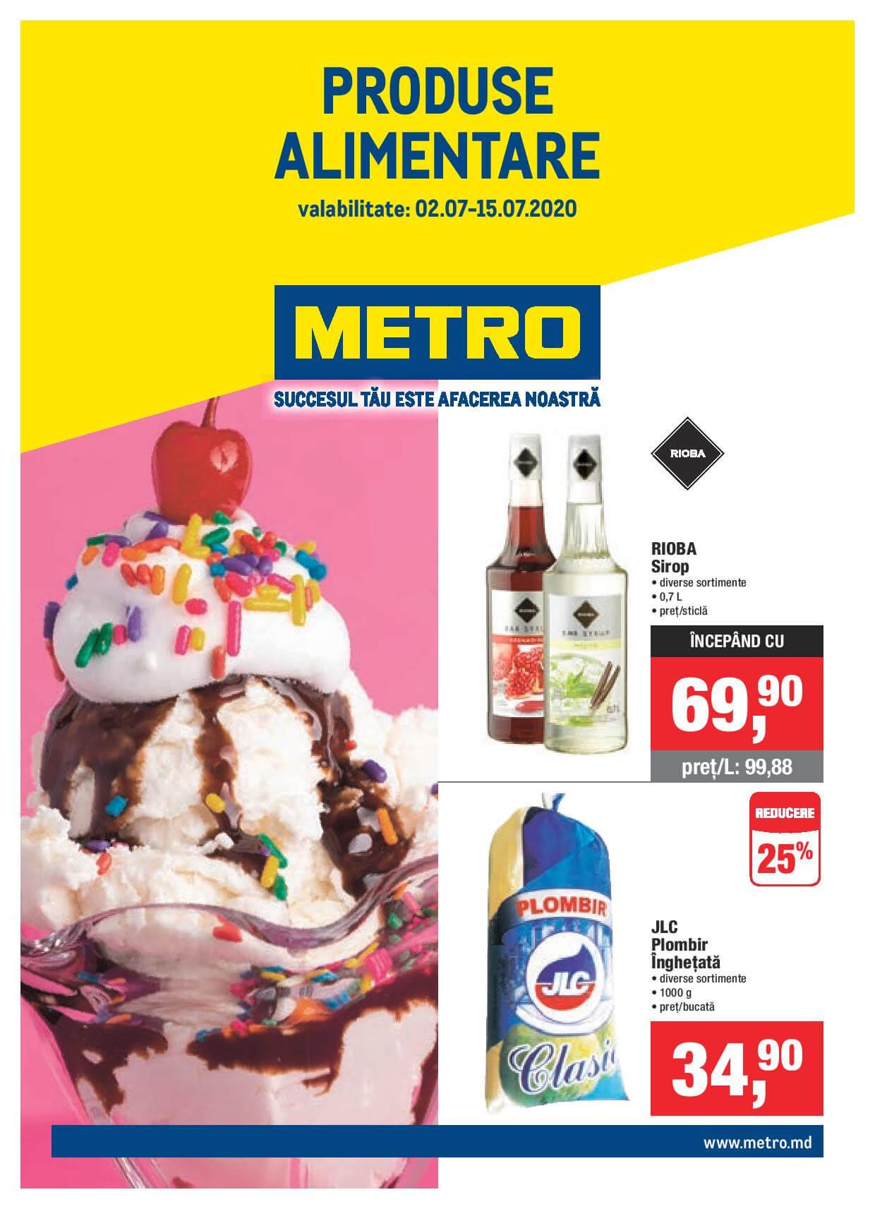 Catalog produse alimentare METRO (Nr. 14)