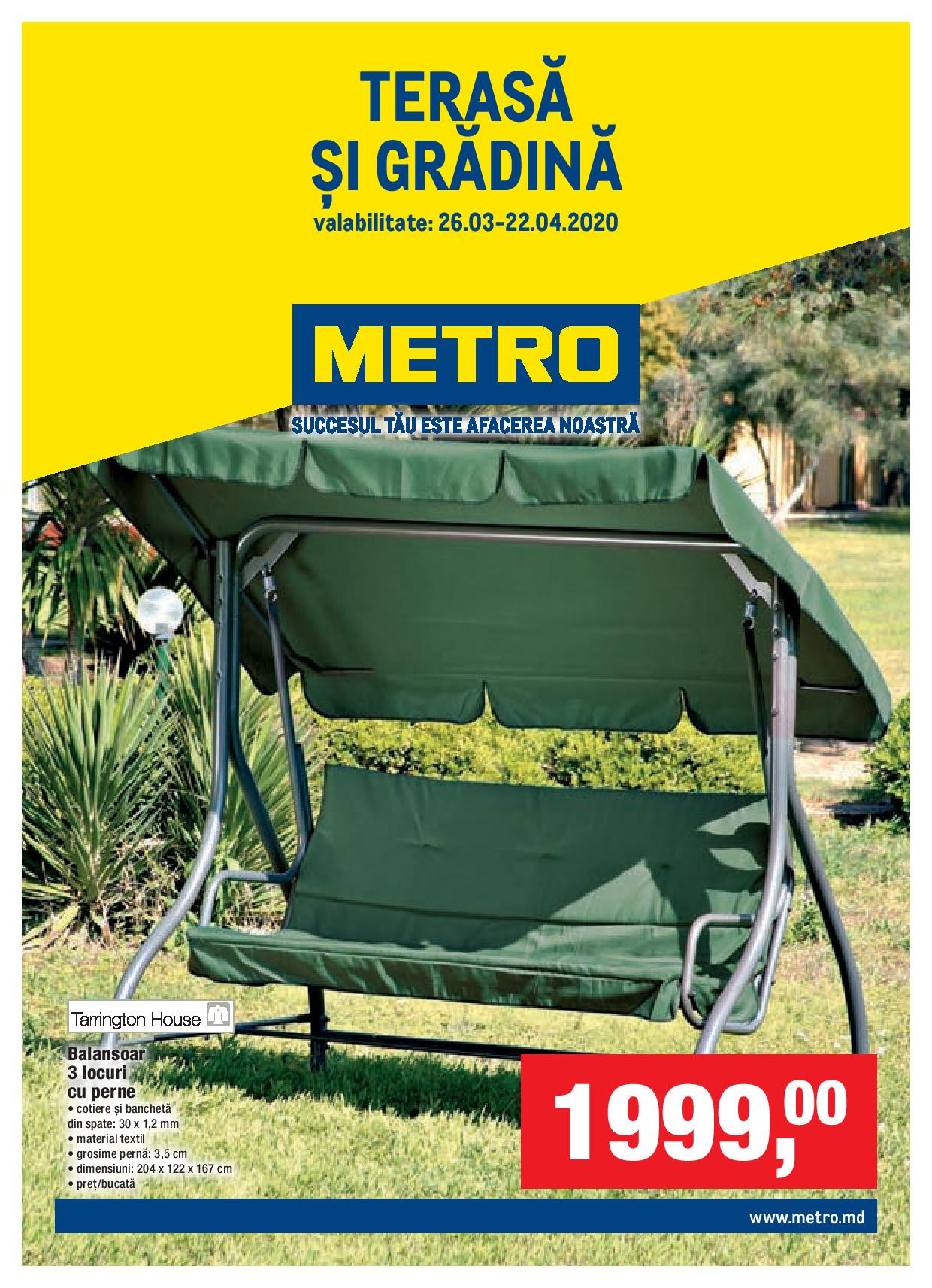 Metro Catalog Special Terasă și Grădină Nr 7