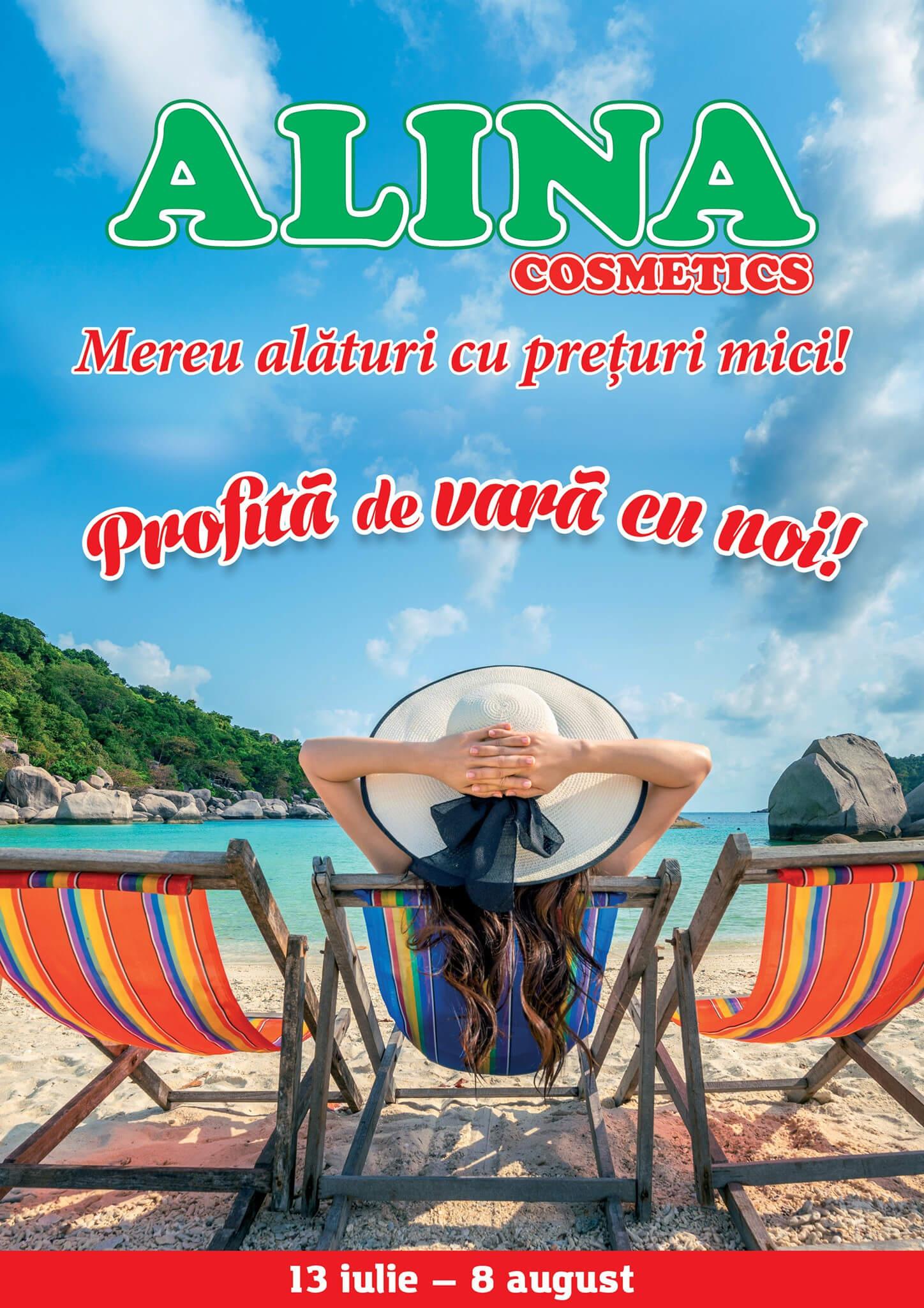 Alina Cosmetics - Profită de vară cu noi