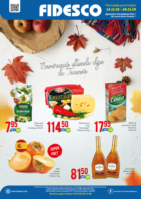 Fidesco - ofertă noiembrie