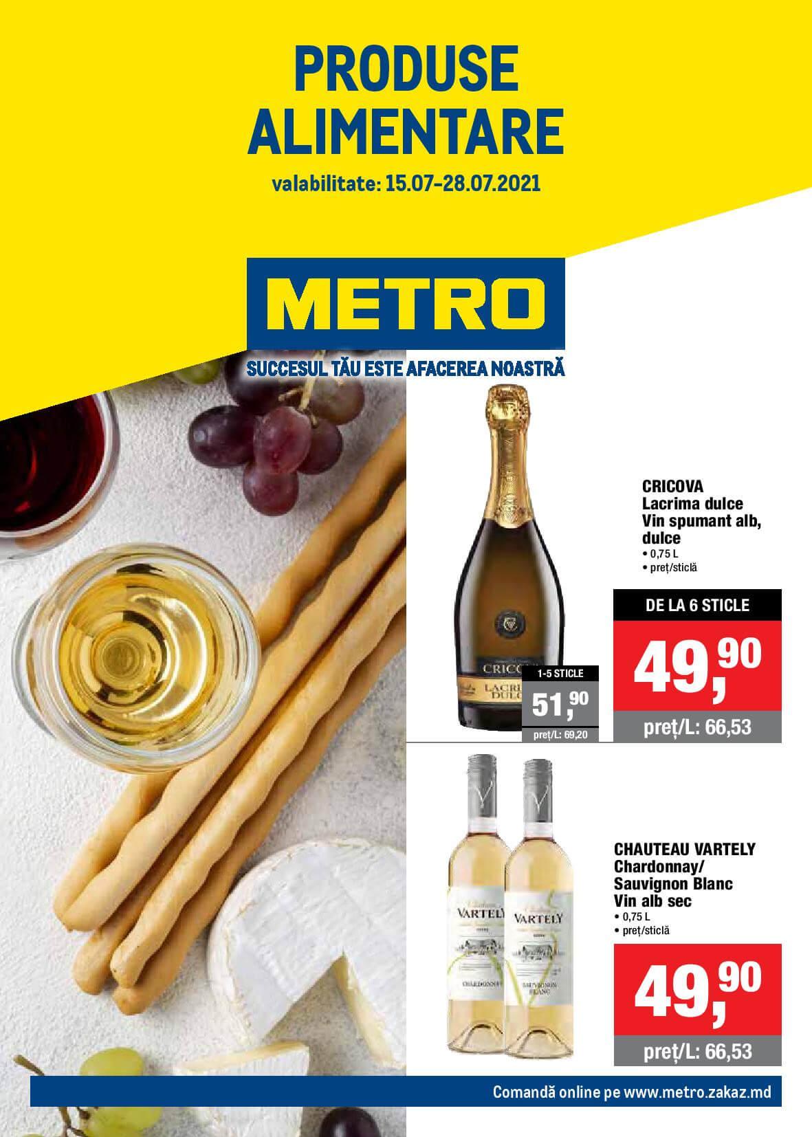 Catalog produse alimentare de la METRO (Nr. 15)