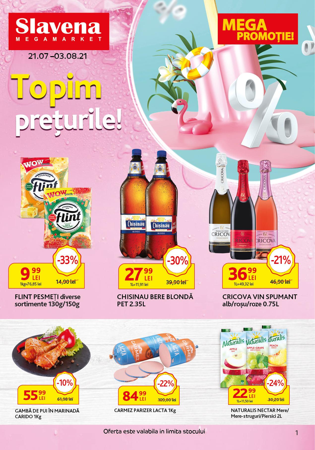 Slavena - Topim prețurile