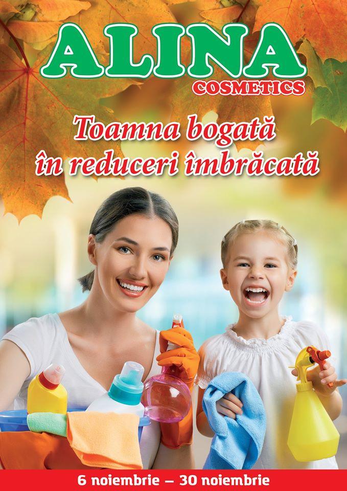 Alina Cosmetics - catalog noiembrie