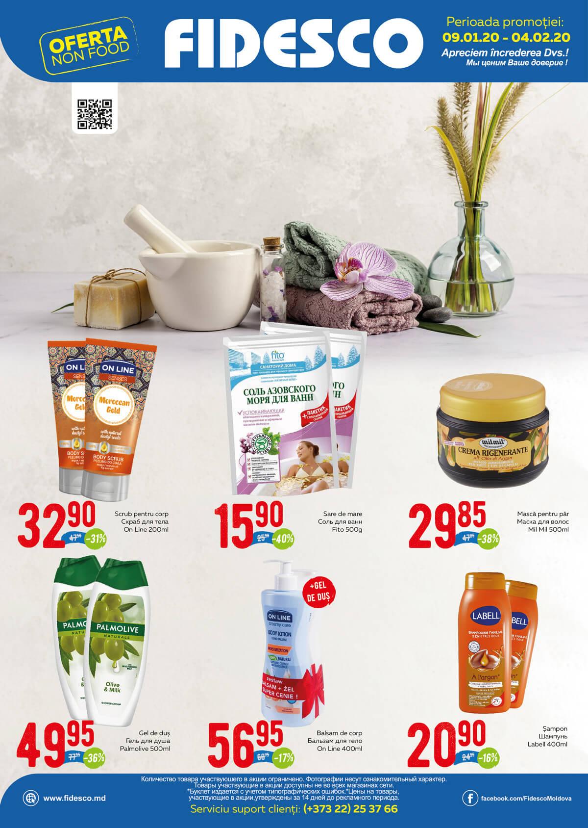 Fidesco - oferta nonfood ianuarie