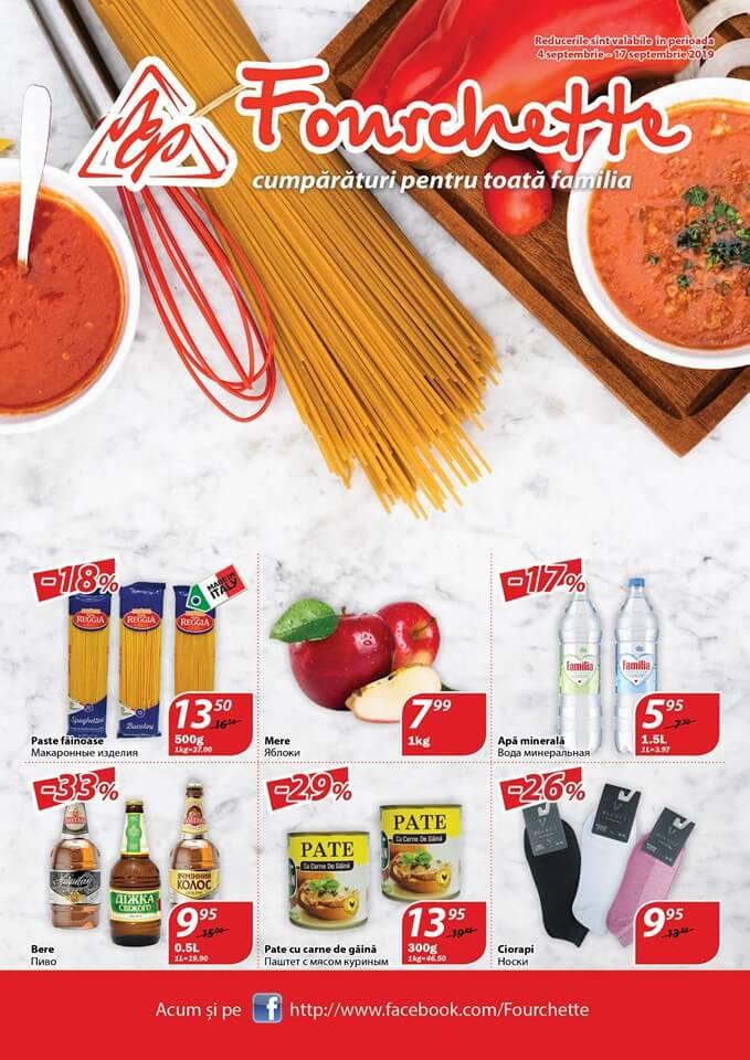 Fourchette - catalog septembrie