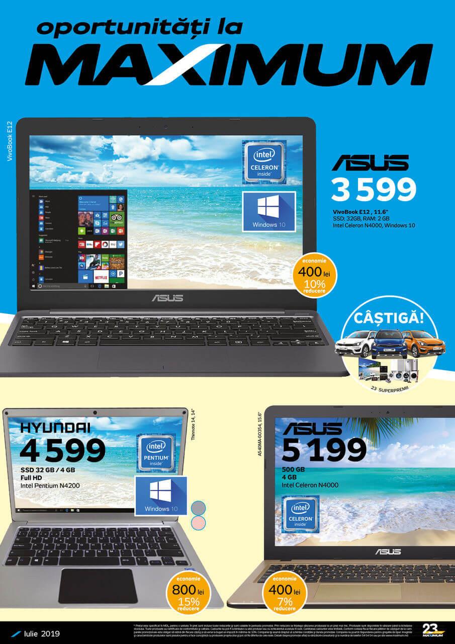Maximum: alege un laptop potrivit