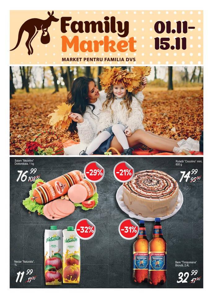 Family Market - catalog noiembrie