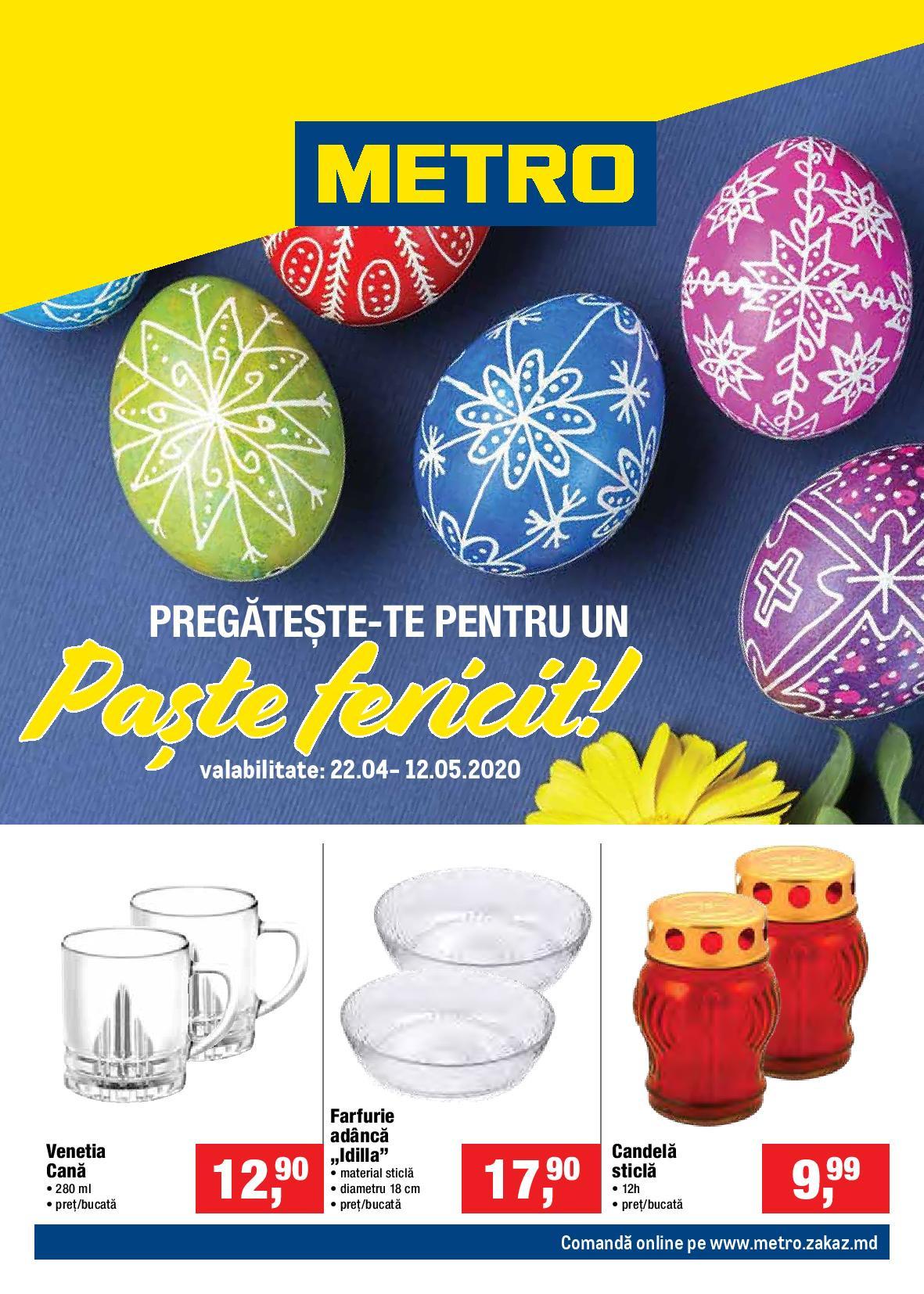 METRO: Ofertă nealimentară de Paște!
